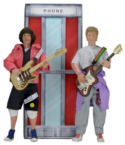 "NECA 8"" Clothed Bill & Ted's Excellent Adventure Action Figure 2-Pack"